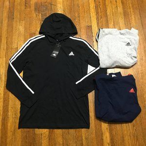 Adidas Youth Badge of Sport Hooded